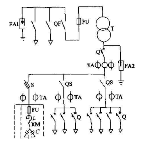 变压器接线图