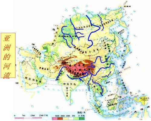 亚洲文学地图