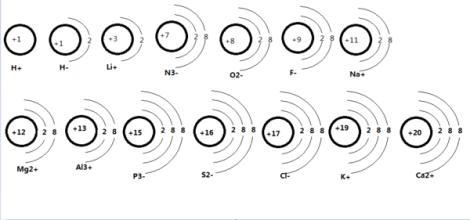 离子的结构示意图要怎么画 要图片