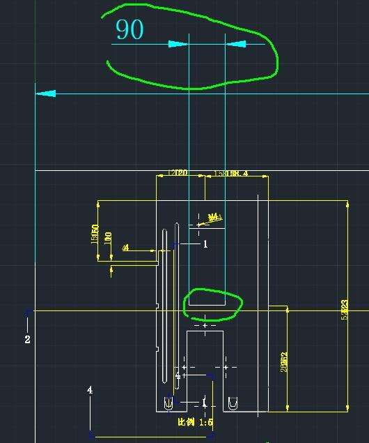 proe工程图纸图转换cad机械实现1:1模型,该dw迷城钣金比例尺寸纸图片