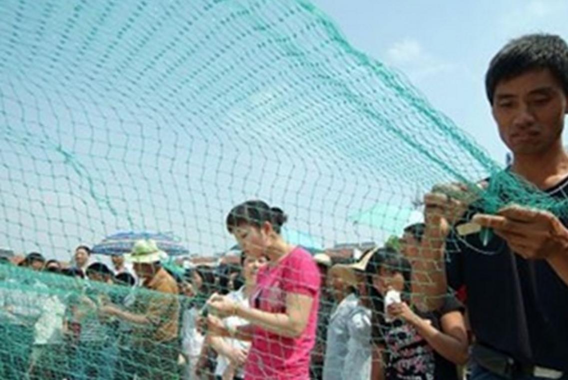 编织鱼网的方法