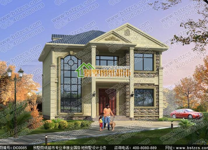 在费用盖2层120平方的农村全部别墅要价格走势香堂别墅图片