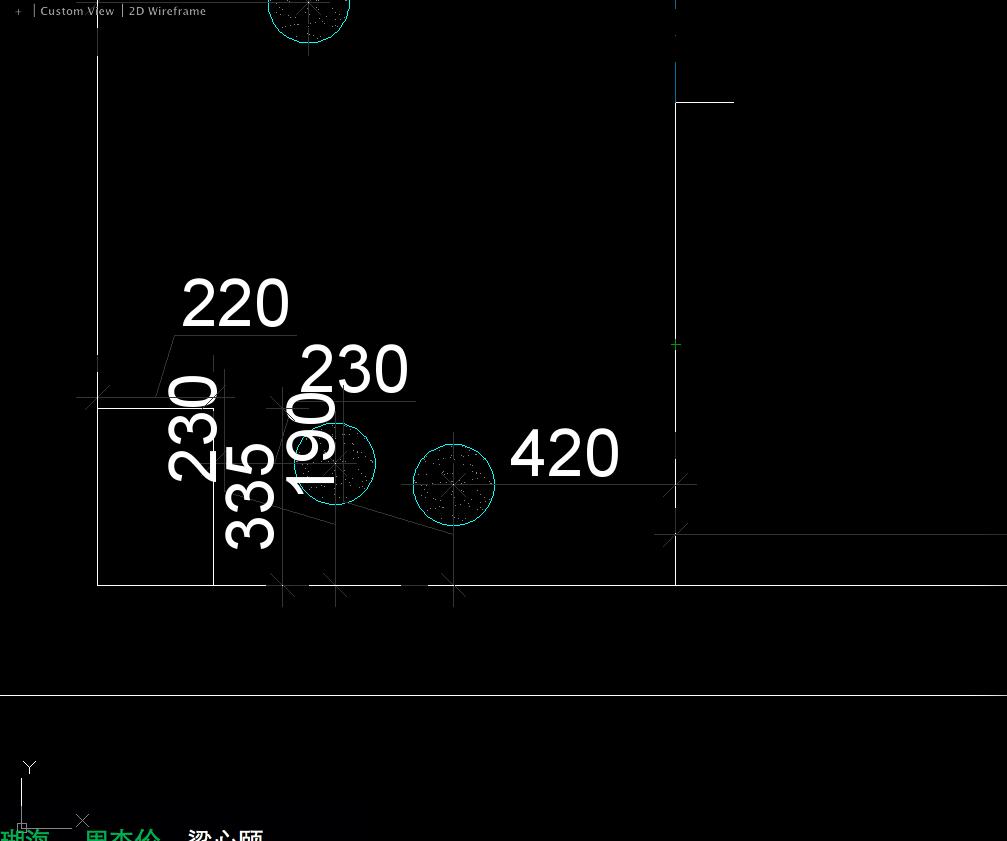 2014cad数字中标注位置v数字版本?cad标注乘以图片