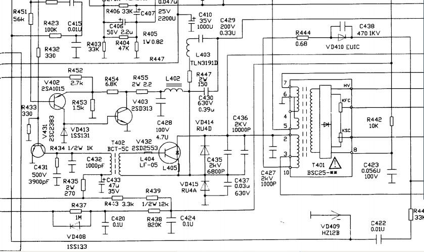 电路系统图施工图