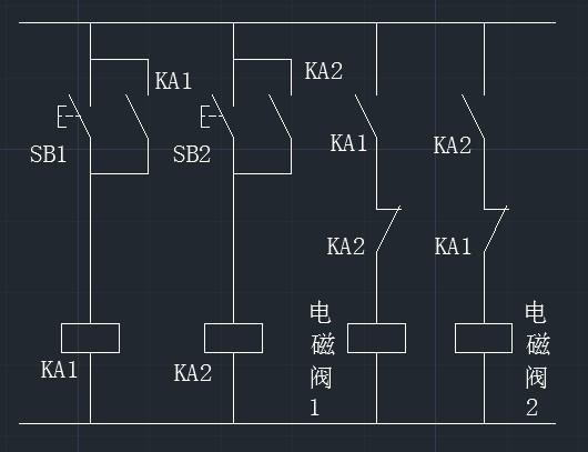 电磁阀原理图图片