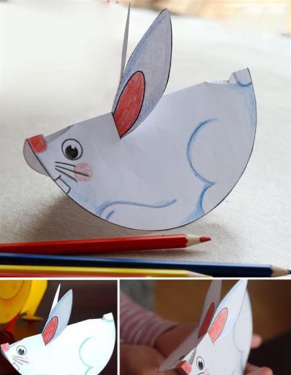 如何diy小学生环保手工制作剪贴画方法图解