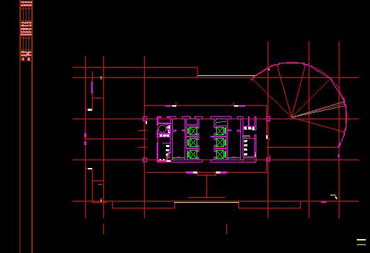 天正图纸打开成T3后,用CAD转换出现图纸显示图纸三v图纸房层图片