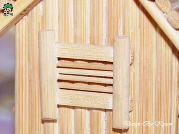 做底座然后 将建筑模型的主要框架设计完成 筷子要修整 弄成您想要的