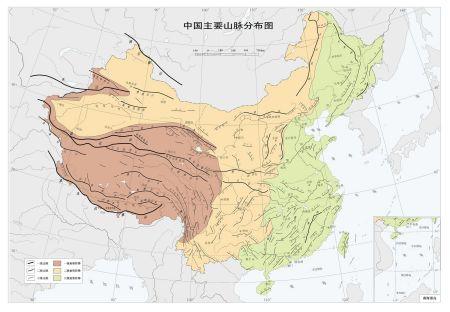 求一张高清的中国地形图,要标有山川河流的,最好还能有旅游景点,没有