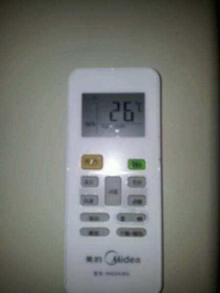 怎样使美的空调制热用遥控器的