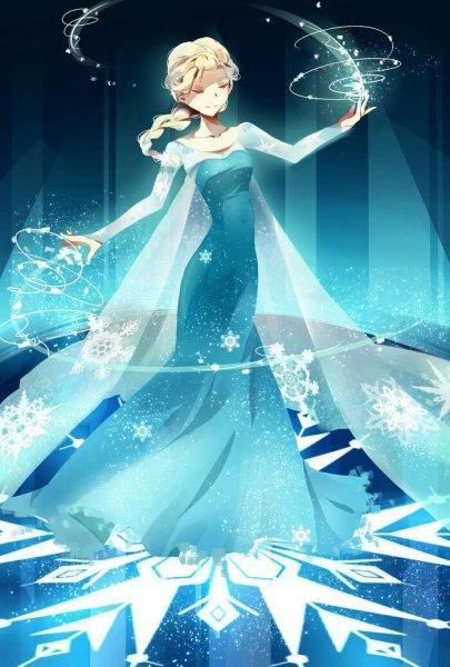 冰雪公主的图片