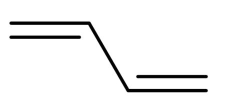 反式聚14丁二烯结构式