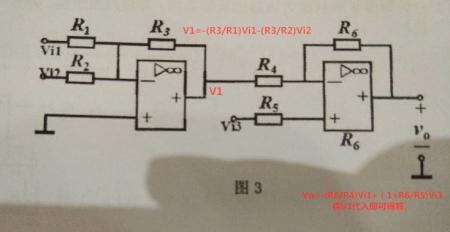 理想集成运放电路,分析其输出与输入信号的关系