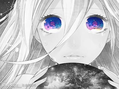 求一些伤心哭泣的女生动漫头像,脸部无表情地流泪的,稍微有些惊讶吧.