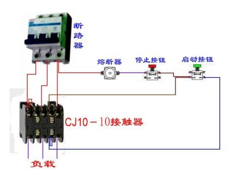 在继电器接触器控制电路中,自锁环节触点的正确连接方法是什么