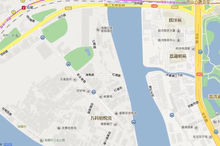 廣州市荔灣區坦尾東海直街在地圖上沒有,位置應該在紅樓路附近.