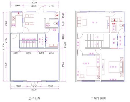 自建房设计图