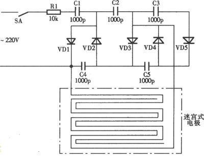 求个自制电路灭鼠器的电路图