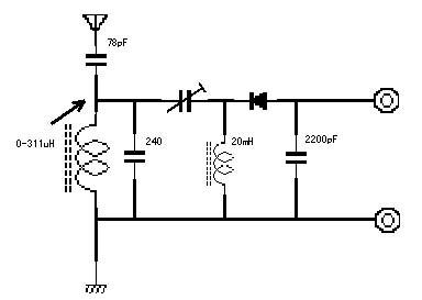 采用75号电路的调感式矿石机电路实例