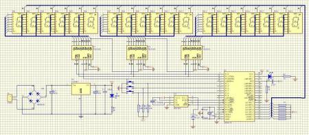 (单片机 晶振,磁片电容,电解电容,电阻差不多了),数码管看你用的什么