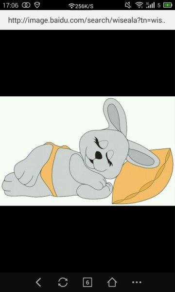 睡觉的兔子怎么画