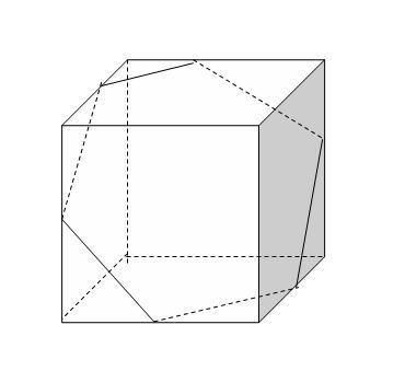 正方体的截面不可能出现几边形图片