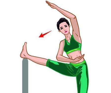 侧压腿运动