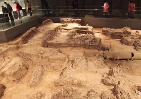万人坑遗址_万人坑的南京大屠杀