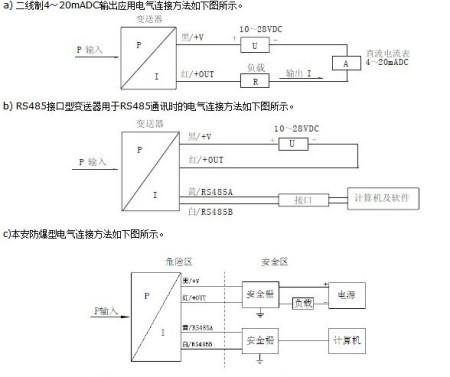 mpm489压力变送器接线图?包括与电源以及与plc的em231