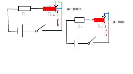 电路图中滑动变阻器的画法