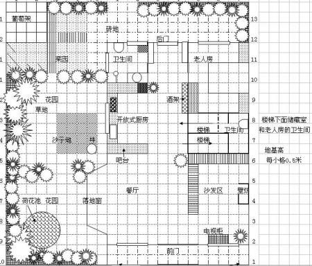 农村2层房屋设计图,房子尺寸长11米宽7米,一层1房1厅1