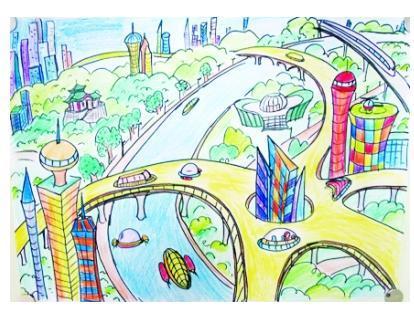 画画,中国梦,我的梦,怎么画