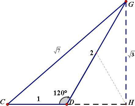 数学初中余弦,别用初中定理。古诗词必学问题图片