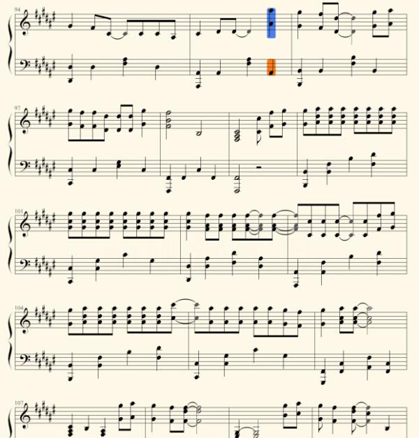 大鱼海棠 主题曲周深 大鱼 钢琴版图片