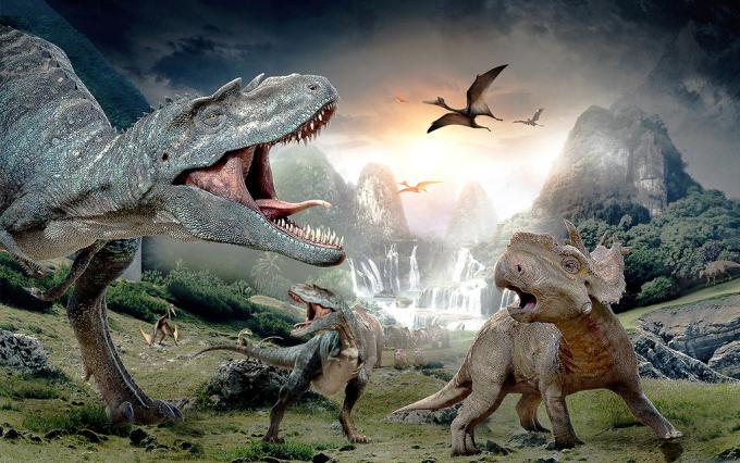 有没有《恐龙世界》动画片的简介?图片