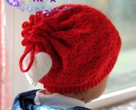 钩针编织帽子的方法及帽子图片