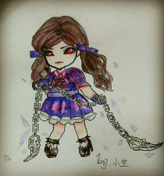 精灵梦叶罗丽角色手绘,只是看图你们认得出来吗?