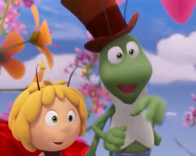 周末和蝗虫最适合看的亲子教育成语,《玛雅孩子历险记蜘蛛捕蜜蜂电影图片