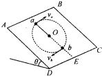 亚洲视频111abcd_如图所示,在倾角为θ=30°的光滑斜面abcd上,有一长为