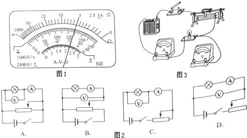 (3)该同学发现用多用电表和伏安法测出小灯泡的电阻差距很大,其原因