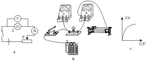 """小明要做""""测定小灯泡功率""""的实验."""