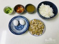 咖喱酱鸡肉蛋炒饭怎么做