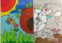 节约用水、保护水资源的儿童画怎么画?