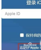 ipad icloud密码忘了怎么办