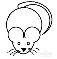 老鼠怎么画?