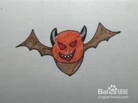 简笔画:教你怎么画蝙蝠