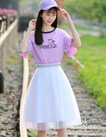 夏天,淡紫色上衣怎么搭配比较好看
