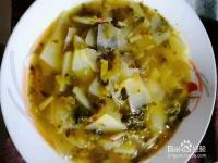 极味家常菜:水腌菜煮洋芋