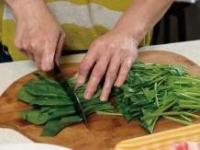 低糖的菠菜牛肉卷