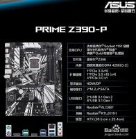 华硕Z390P主板双通道内存怎么插